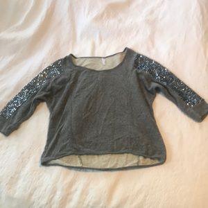 Festive Sequin Sweater